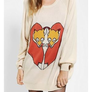 Cooperative Fox Love Sweater